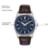 Citizen Eco-Drive Mens World Time Strap Watch BX1000-06L